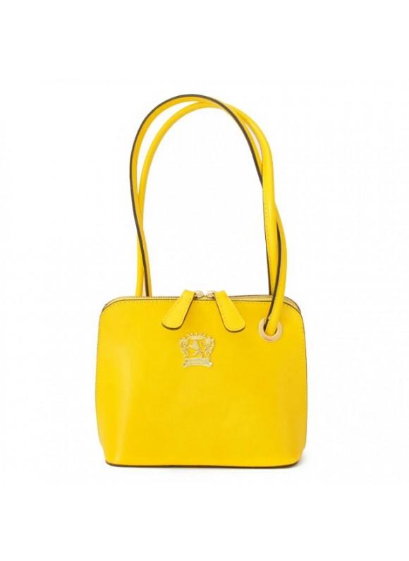 Pratesi Roccastrada Woman Bag in cow leather - Radica Yellow